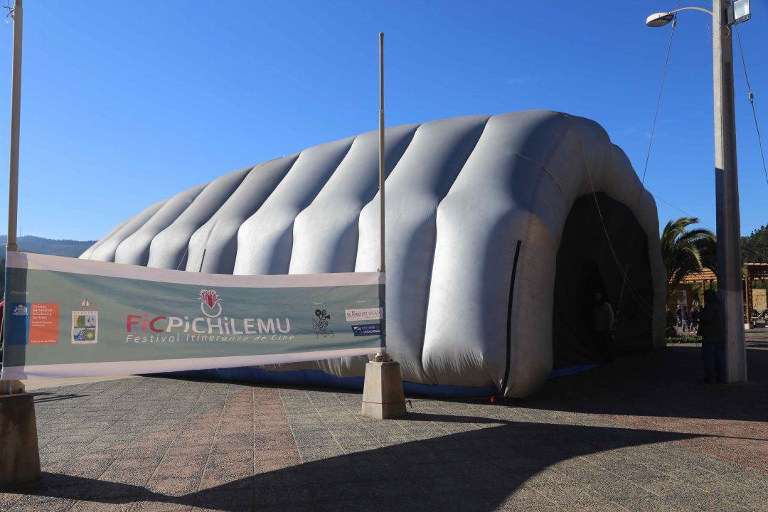 Sala Itinerante de Cine que recorrió las comunas de Pichilemu, Paredones, Litueche, Marchigüe y Pichilemu en la región de O'Higgins y Constitución en el Maule